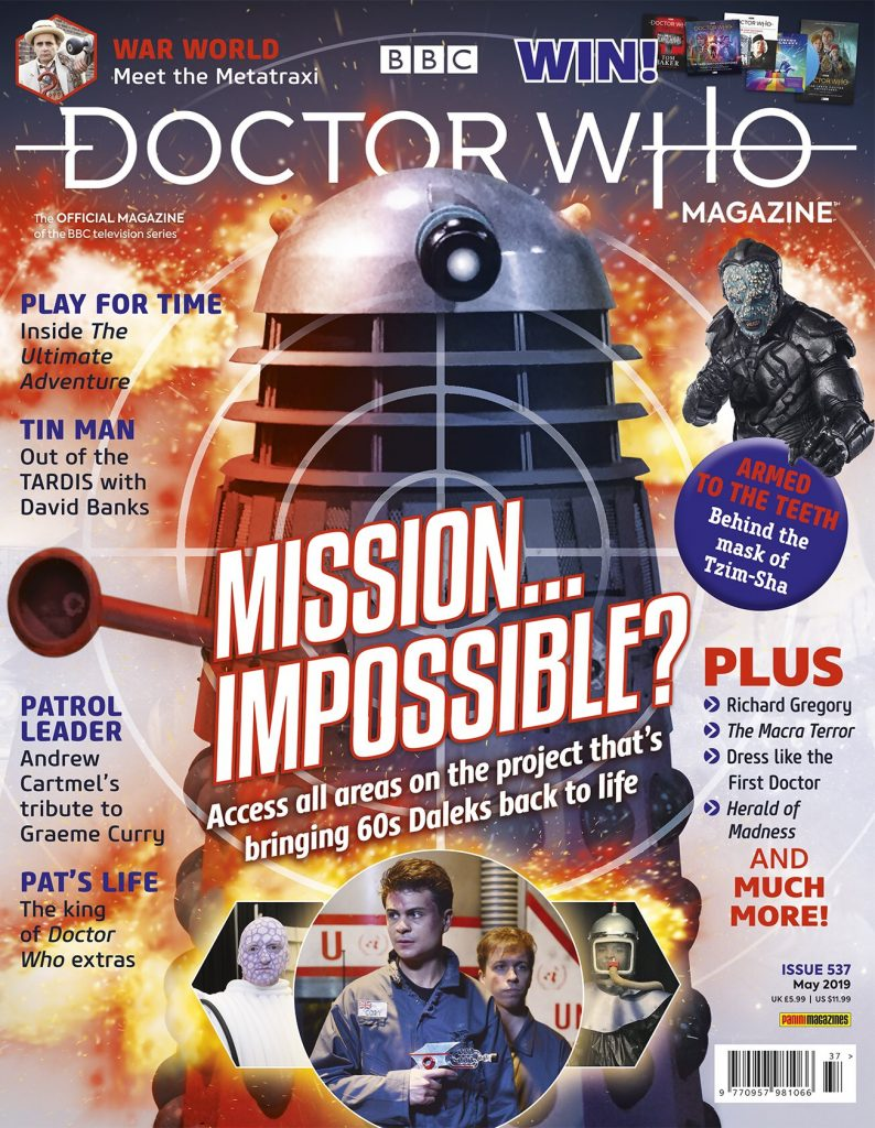 Doctor Who Magazine 537