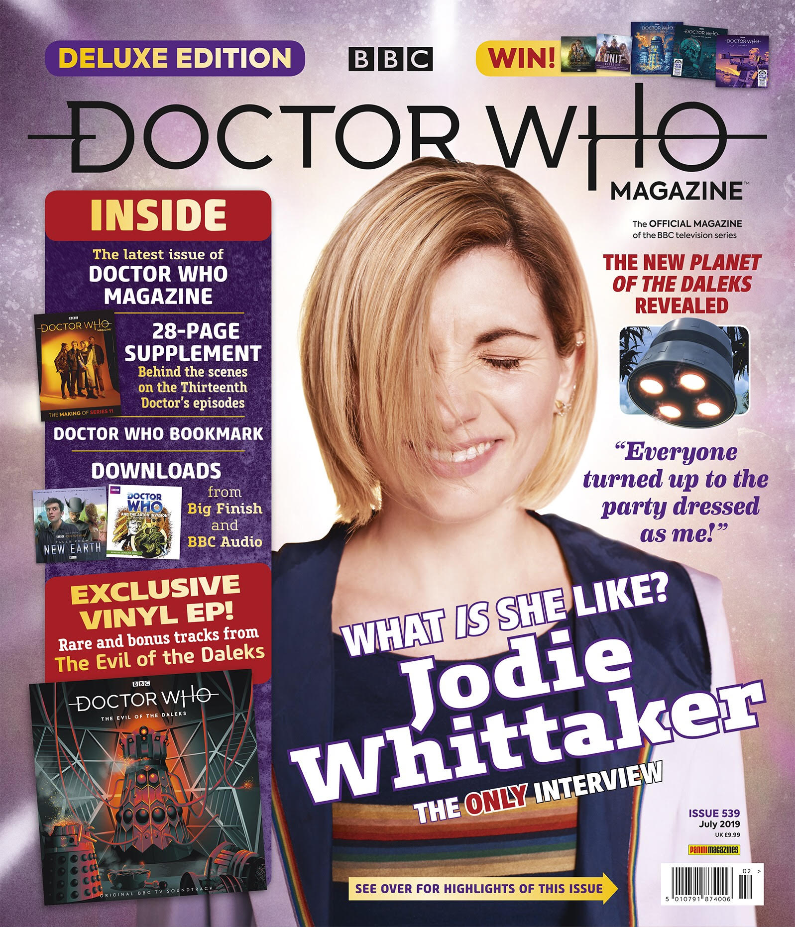 Doctor Who Magazine 539