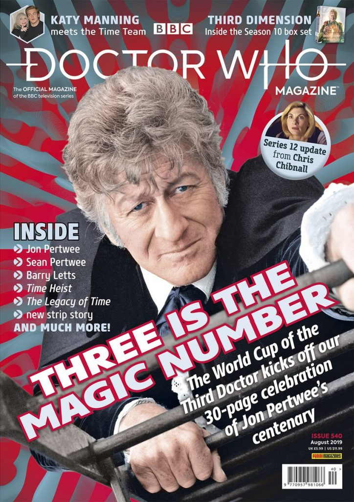 Doctor Who Magazine 540
