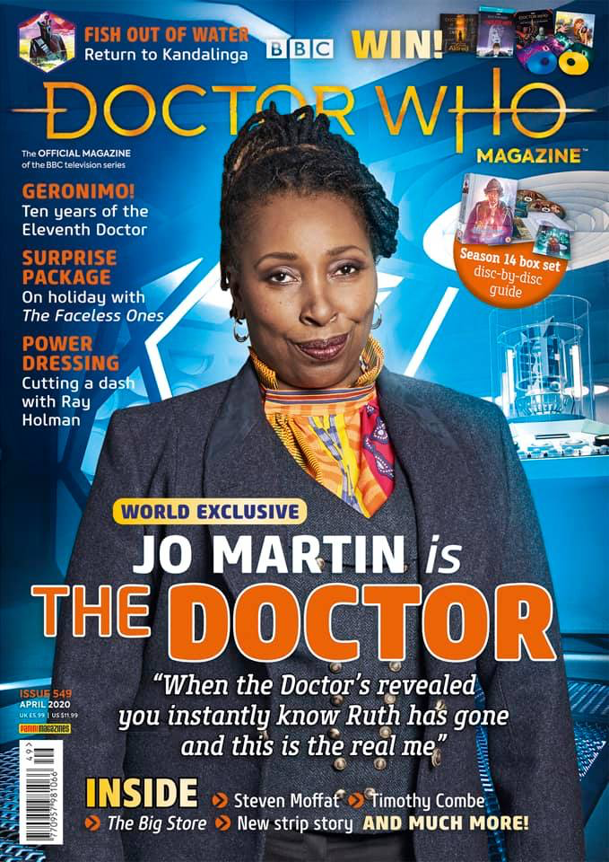 Doctor Who Magazine 549