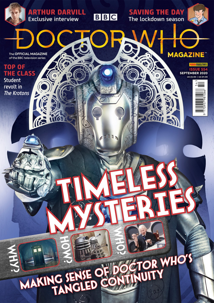 Doctor Who Magazine 554