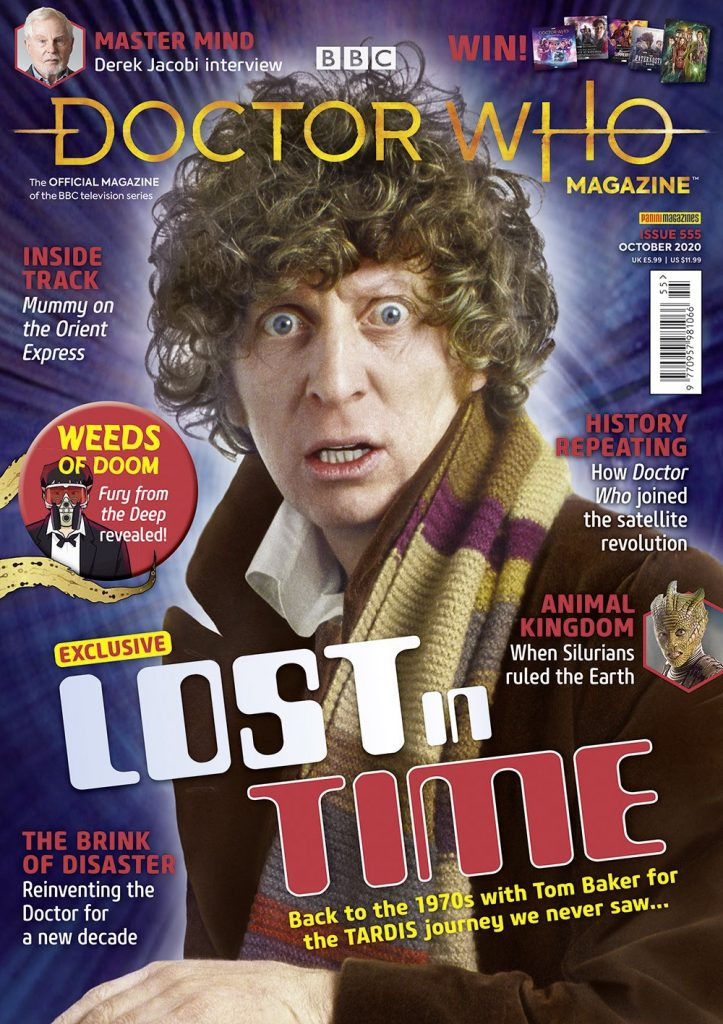 Doctor Who Magazine 555