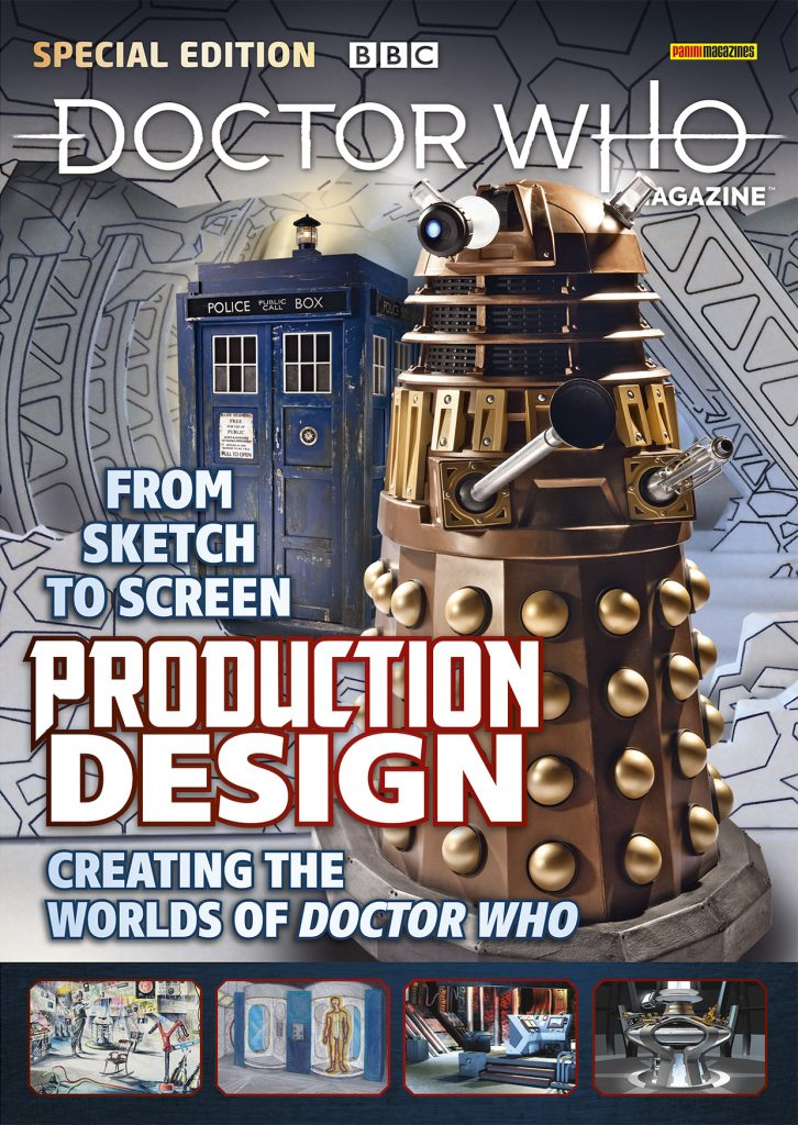 Doctor Who Special Issue 55 Production Designers