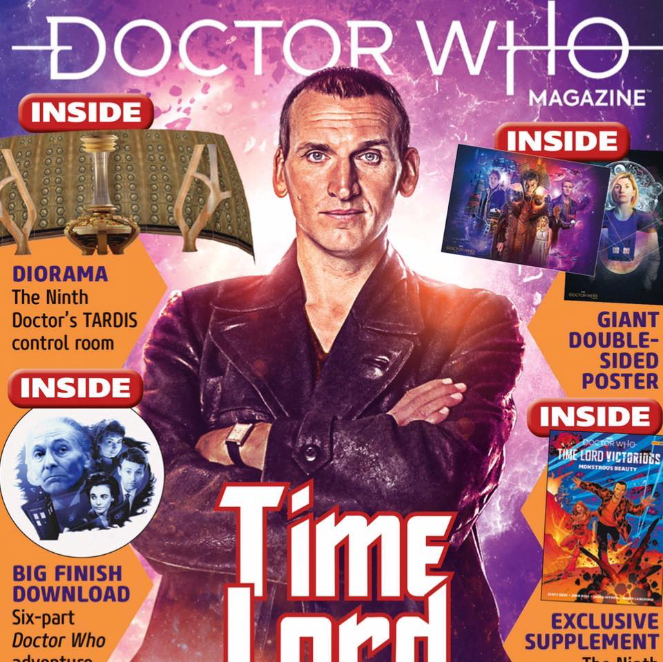 Doctor Who Magazine 556